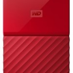 WESTERN DIGI WDBYNN0010BRD MY PASSPORT 1TB RED
