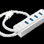 LINDY LINDY43154 HUB USB 3.1 TIPO C A 4 PORTE PER NOTEBOOK