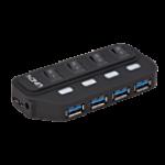 LINDY LINDY43167 HUB USB 3.0 4 PORTE
