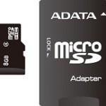 ADATA TECHNO AUSDH8GCL4-RA1 8GB MICROSDHC CLASS 4