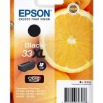 EPSON C13T33514012 CARTUCCIA CLARIA PREMIUM 33 ARANCE NERO ELEVATA XL
