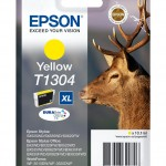 EPSON C13T13044012 CARTUCCIA ULTRA T1304 CERVO  101 ML XL GIALLO