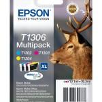 EPSON C13T13064012 MULTIPACK 3 CARTUCCE T1306 CERVO