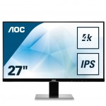 AOC U2777PQU 27 IPS 4K 16.9 3840X2160 4MS DVI HDMI DISPLAYPORT