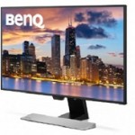 BENQ EW2770QZ GLOSSY BLACK  SIZE  27W  RESOLUTION  2560X1440  D
