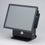 S.N. SYSTEMS K9000-POS-NPR POS TOUCH SCREEN ALL IN ONE 15  NERO + POS READY 7