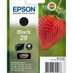 EPSON C13T29814012 CARTUCCIA CLARIA HOME 29 FRAGOLE  53 ML NERO STD