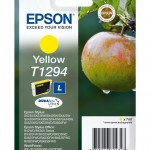 EPSON C13T12944012 CARTUCCIA ULTRA T1294 MELA 70 ML L GIALLO