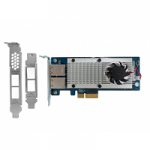QNAP LAN-10G2T-X550 DUAL-PORT 10GBASE-T NETWORK EXPANSION CARD