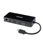 TOSHIBA PA5272U-2PRP USB-C TO HDMI/VGA TRAVEL ADAPTER