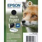 EPSON C13T12814012 CARTUCCIA ULTRA T1281 VOLPE  59 ML M NERO