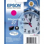 EPSON C13T27034012 CARTUCCIA ULTRA 27 SVEGLIA 36 ML MAGENTA