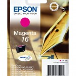 EPSON C13T16234012 CARTUCCIA 16 PENNA E CRUCIVERBA 31 ML MAGENTA