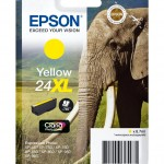 CARTUCCIA CLARIA PHOTO HD24XL ELEFANTE 87ML GIALLO