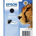 EPSON C13T07114012 CARTUCCIA ULTRA T0711 GHEPARDO 74 ML NERO
