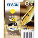 EPSON C13T16344012 CARTUCCIA 16XL PENNA E CRUCIVERBA  65ML GIALLO