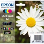EPSON C13T18064012 MULTIPACK 4 CARTUCCE  18 CLARIA  HOME MARGHERITA