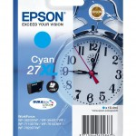 EPSON C13T27124012 CARTUCCIA ULTRA 27XL SVEGLIA  104 ML CIANO