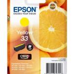 EPSON C13T33444012 CARTUCCIA CLARIA PREMIUM 33 STD ARANCE GIALLO