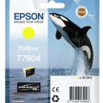 EPSON C13T76044010 CARTUCCIA HD T7604 ORCA  259 ML GIALLO
