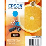 EPSON C13T33624012 CARTUCCIA CLARIA PREMIUM 33 ARANCE CIANO ELEVATAXL