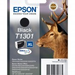 EPSON C13T13014012 CARTUCCIA ULTRA T1301 CERVO  254 ML XL NERO