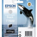 EPSON C13T76094010 CARTUCCIA HD T7609 ORCA  259 ML NERO LIGHT LIGHT
