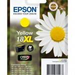 EPSON C13T18144012 CARTUCCIA CLARIA HOME 18XL MARGHERITA 66 ML GIALLO