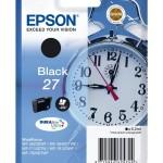 EPSON C13T27014012 CARTUCCIA DURABRITE  ULTRA 27 SVEGLIA  62 ML NERO