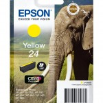EPSON C13T24244012 CARTUCCIA CLARIA  PHOTO HD24 ELEFANTE 46 ML GIALLO