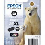 EPSON C13T26314012 CARTUCCIA CLARIA PREMIUM 26XL ORSO POLARE NERO