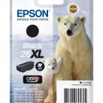 EPSON C13T26214012 CARTUCCIA SERIE 26XL ORSO POLARE 122 ML NERO