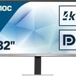 AOC U3277FWQ 31.5 4K 16.9 3840X2160 4MS DVI HDMI DISPLAYPORT