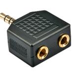 LINDY LINDY35625 ADATT. DA 2X3.5MM F A 3.5MM M