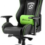 SHARKOON SGS3 BK/GN GAMING SEAT BLACK AND GREEN