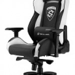 GAMING SEAT BLACK AND WHITE