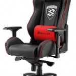 SHARKOON SGS3 BK/RD GAMING SEAT BLACK AND RED
