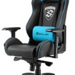 GAMING SEAT BLACK AND BLUE