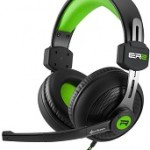 SHARKOON RUSH ER2 GREEN STEREO HEADSET, 2X 3.5 MM PLUG