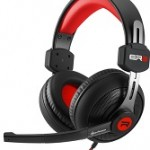 SHARKOON RUSH ER2 RED STEREO HEADSET, 2X 3.5 MM PLUG