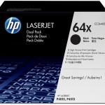 HP INC. CC364XD HP LASERJET 24K PRNT CARTRIDGE DUAL PACK