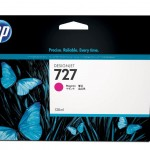 HP INC. B3P20A HP 727 130-ML MAGENTA INK CARTRIDGE