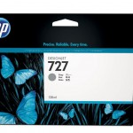 HP INC. B3P24A HP 727 130-ML GRAY INK CARTRIDGE