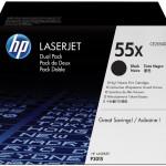 HP INC. CE255XD HP LASERJET P3015 DUAL PACK BLACK CRTG