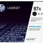 HP INC. CF287X HP 87X BLACK LASERJET TONER CARTRIDGE