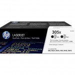 HP INC. CE410XD HP 305X BLK DUAL PACK LJ TONER CARTRIDGE