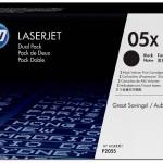 HP INC. CE505XD HP LASERJET P2055 BLACK CRTG DUAL PACK