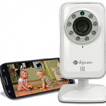 DIGICOM 8E4522 IPCAM30P VIDEOCAMERA IP WIRELESS HOME APP