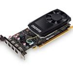 NVIDIA QUADRO P1000 4GB GDDR5 4 MINI DP HP BRACKET