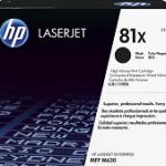 HP INC. CF281XC HP 81X BLK CONTRACT LJ TONER CARTRIDGE